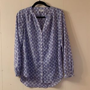 Jacklyn Smith Long Sleeved  Blouse